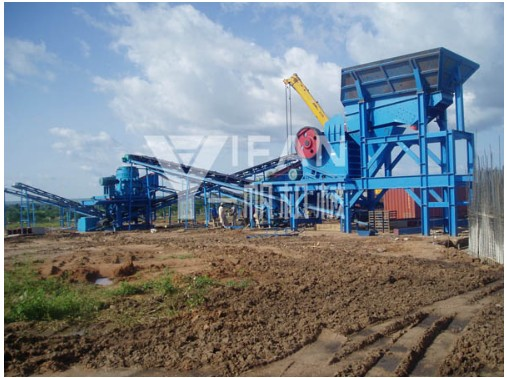 Portable Crusher Employed In Africa